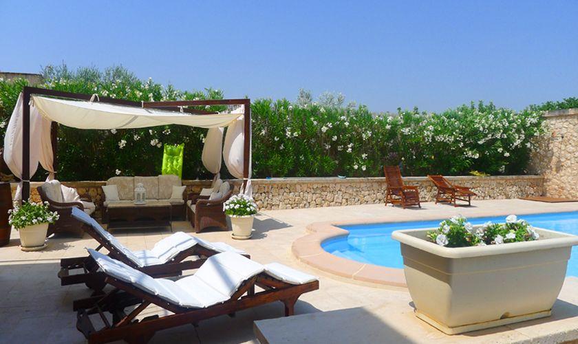 Poolblick Finca Mallorca PM 6022