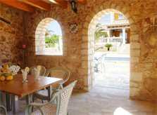 Barbecue 2 Ferienvilla Mallorca PM 6052 im Südosten