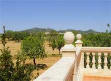 Blick in die Landschaft Villa Mallorca PM 6052 im Südosten
