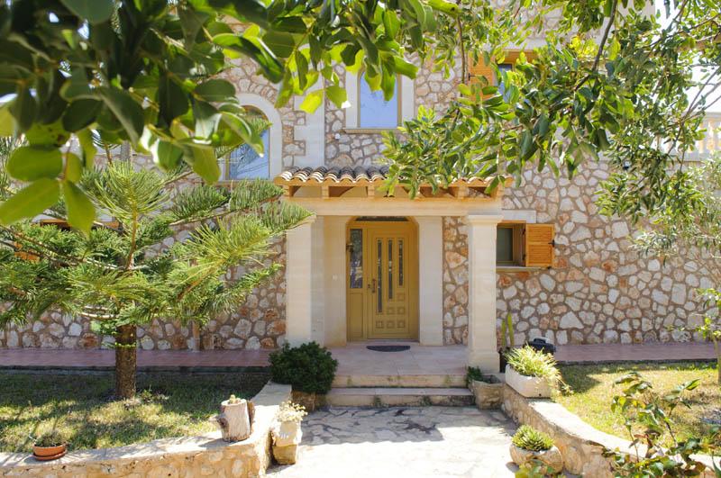Eingang Ferienvilla Mallorca PM 6052 im Südosten