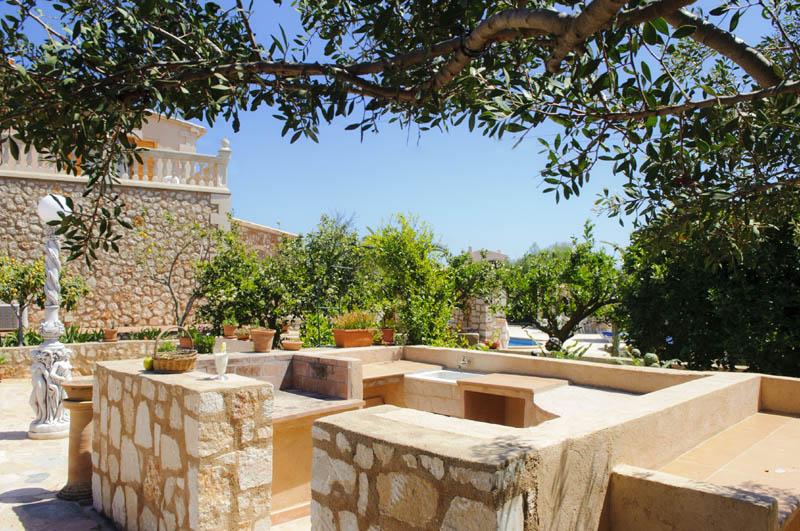 Garten Villa Mallorca PM 6052 im Südosten