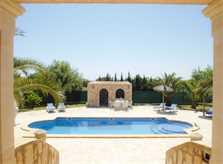 Poolblick Ferienvilla Mallorca PM 6052 im Südosten