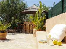 Terrasse 3 Ferienvilla Mallorca PM 6052 im Südosten