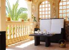 Terrasse 4 Ferienvilla Mallorca PM 6052 im Südosten