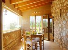 Terrasse 2 Ferienvilla Mallorca PM 6052 im Südosten