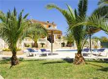 Garten, Pool und Ferienvilla Mallorca PM 6052 im Südosten