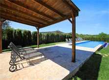 Pool und Liegen Finca Mallorca für 12 Personen PM 6053