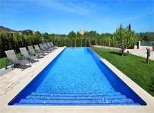 Poolblick Finca Mallorca für 12 Personen PM 6053