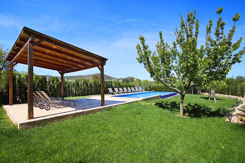 Pool und Garten Finca Mallorca Südosten PM 6053