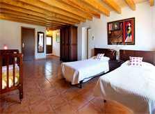 Schlafzimmer Finca Mallorca Südosten PM 6053