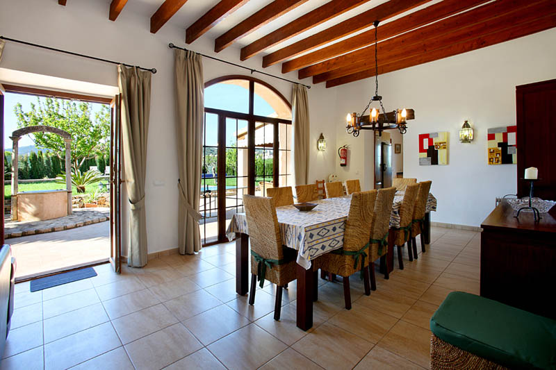 Wohnraum Finca Mallorca Südosten PM 6053