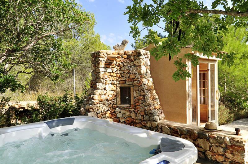 Saunabecken Finca Mallorca PM 6055 im Südosten für 10 Personen