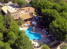 Blick auf die Finca Mallorca PM 6055 im Südosten für 10 Personen