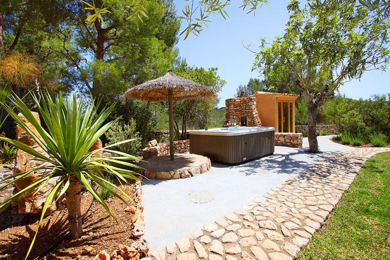 Jacuzzi Finca Mallorca PM 6055 im Südosten für 10 Personen