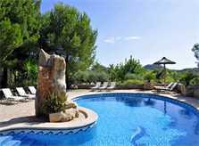 Pool der Ferienfinca Mallorca PM 6055 im Südosten für 10 Personen