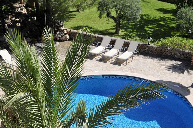 Pool 2 der Ferienfinca Mallorca PM 6055 im Südosten für 10 Personen