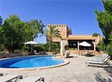 Blick auf den Pool 2 Finca Mallorca PM 6055 im Südosten für 10 Personen