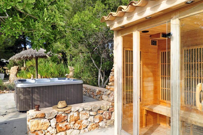 Sauna Finca Mallorca PM 6055 im Südosten für 10 Personen