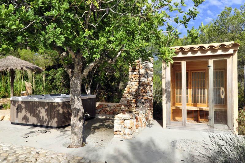 Saunabecken 2 Finca Mallorca PM 6055 im Südosten für 10 Personen