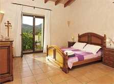 Schlafzimmer 2 Finca Mallorca PM 6055 im Südosten für 10 Personen