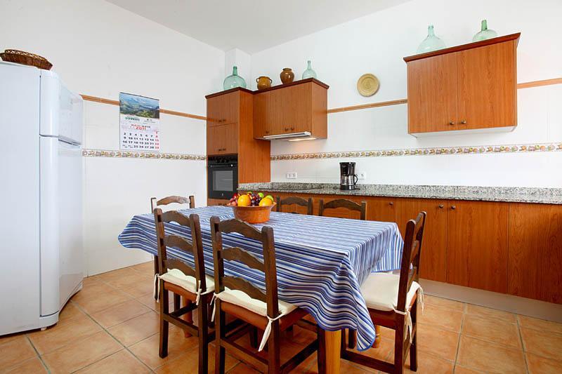 Küche 2 Finca Mallorca Südosten PM 6056 für 12 - 14 Personen
