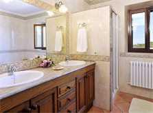 Badezimmer 2 Villa Mallorca für 6-7 Personen PM 6061