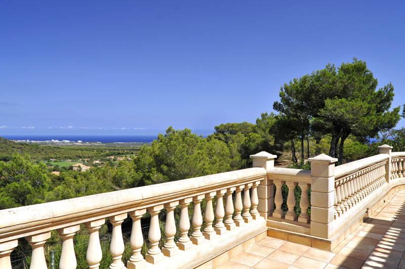 Blick von der Ferienvilla Mallorca Südosten PM 6061