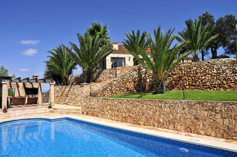 Pool der Ferienfinca Mallorca PM 6061 im Südosten