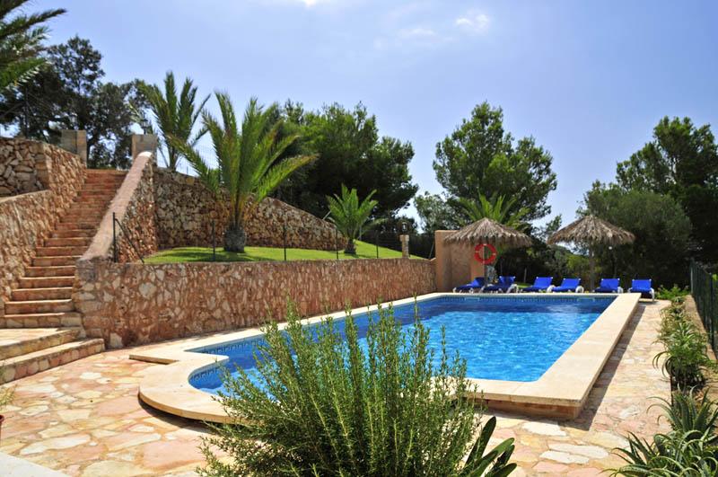 Pool der Villa Mallorca PM 6061 im Südosten