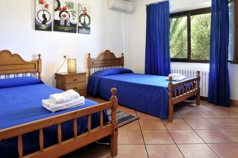 Schlafzimmer 3 der Villa Mallorca für 6-7 Personen PM 6061