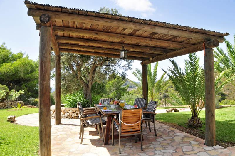 Terrasse 2 der Ferienfinca Mallorca PM 6061 im Südosten