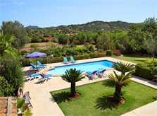 Pool der Finca Mallorca PM 6062 im Südosten für 6-7 Personen
