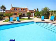 Pool und Ferienvilla Mallorca PM 6062 im Südosten für 6-7 Personen
