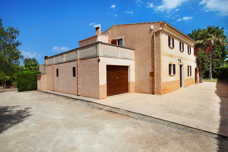 Blick auf die Villa Mallorca Südosten PM 6062 für 6-7 Personen