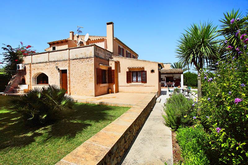 Garten Finca Mallorca Südosten PM 6062 für 6-7 Personen
