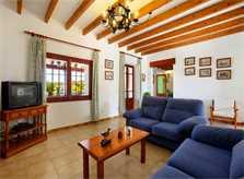 Wohnraum Villa Mallorca Südosten PM 6062 für 6-7 Personen