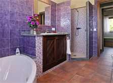Badezimmer Finca Mallorca Südosten PM 6063 für 12 Personen