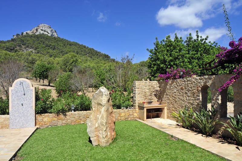 Barbecue Ferienvilla Mallorca Südosten PM 6063