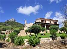 Blick auf die Finca Mallorca mit Pool Südosten PM 6063