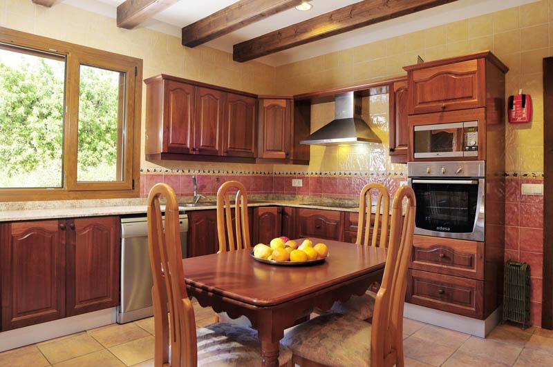 Küche Ferienhaus Mallorca Südosten PM 6063