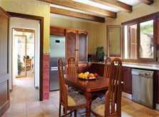 Küche Ferienvilla Mallorca Südosten PM 6063