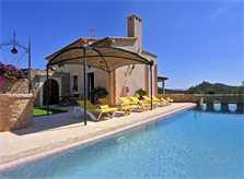 Pool und Ferienfinca Mallorca PM 6063 im Südosten