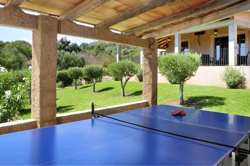 Tischtennis Ferienvilla Mallorca Südosten PM 6063