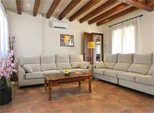 Wohnraum Ferienvilla Mallorca Südosten PM 6063