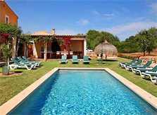 Poolblick Finca Mallorca 12 Personen PM 6064