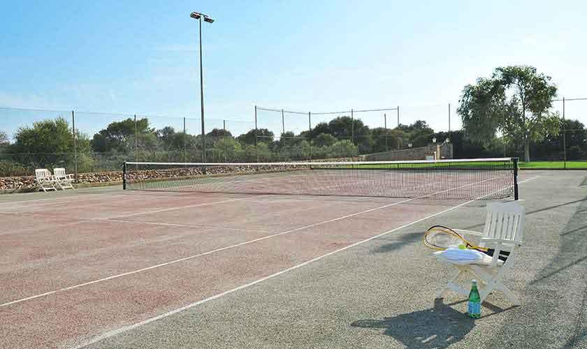 Tennisplatz Finca Mallorca 10 Personen PM 6071