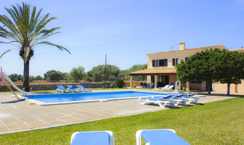 Pool und Finca Mallorca mit Tennisplatz PM 6071