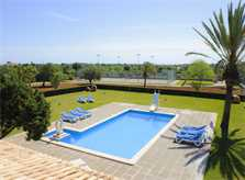 Pool und Tennis Finca Mallorca Südosten PM 6071