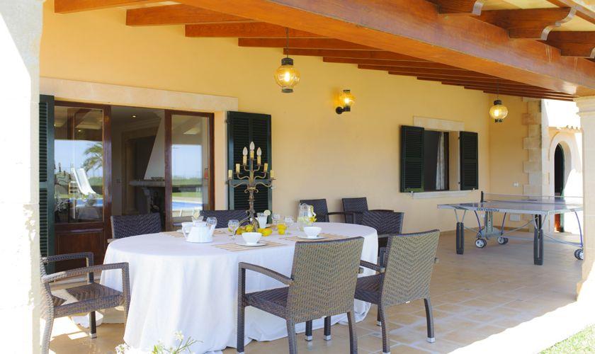 Terrasse Finca Mallorca 10 Personen PM 6071