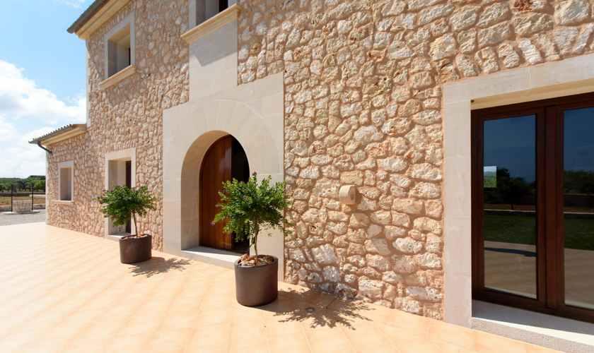 Eingang zur Finca Mallorca 8 Personen PM 6075